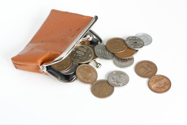 財布がパンパン